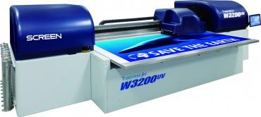 Image from Screen announces Truepress Jet 3200UV HS printer