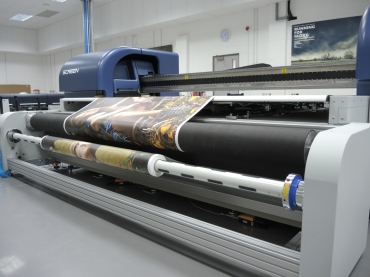 Image from Screen launches 'best-in-class' roll-to-roll system for Truepress Jet W3200UV printer