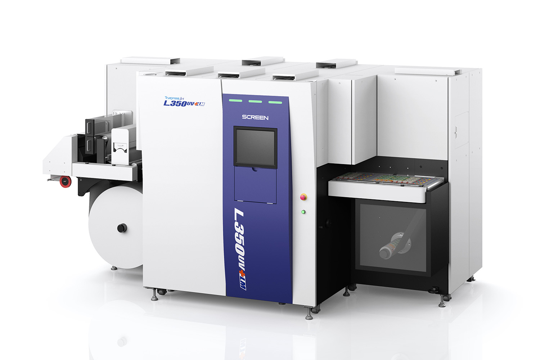 Image from Auckland Label Printer Unimax Installs a Screen Truepress Jet L350UV Digital Label Press