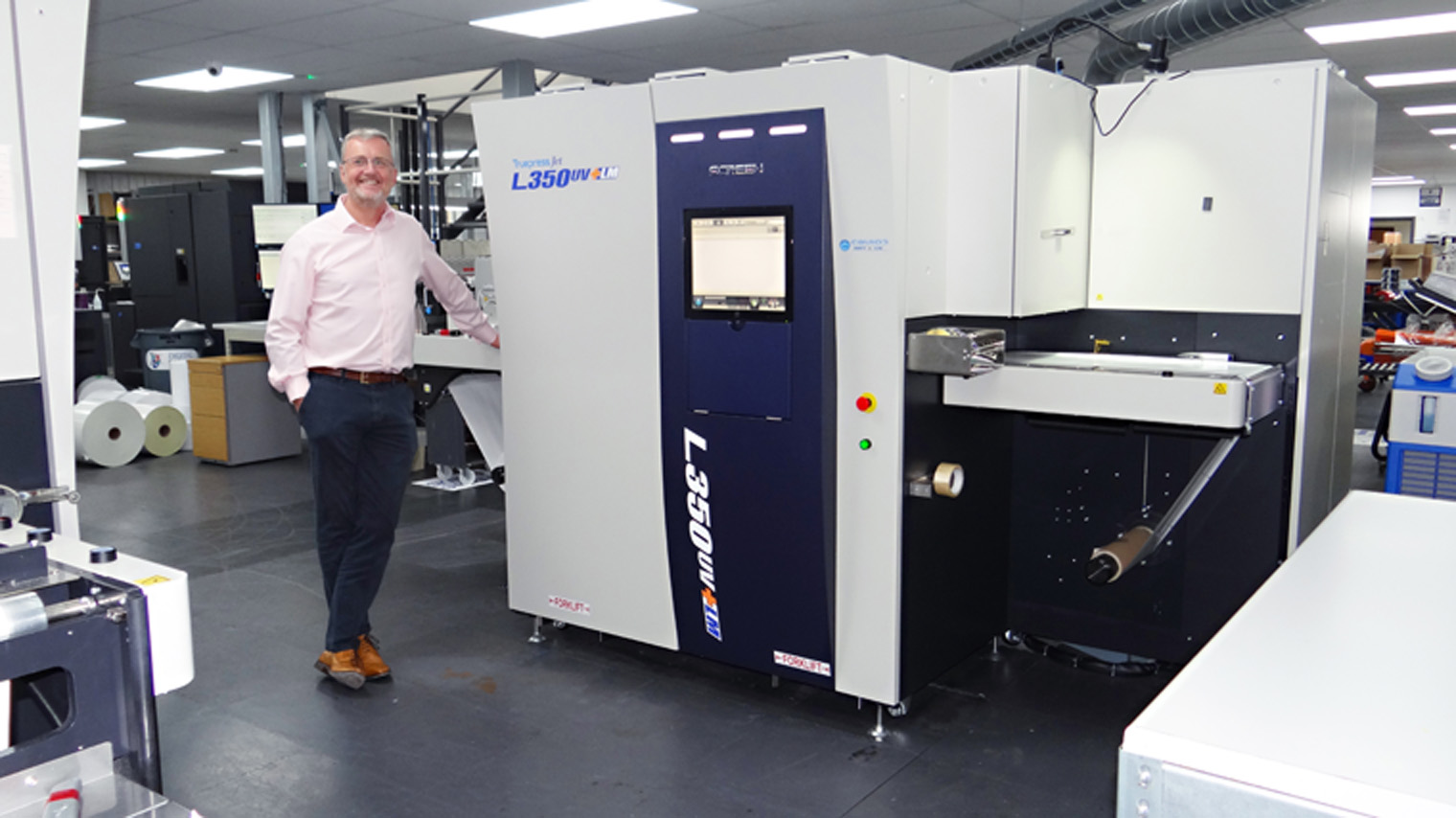 Image from BAKER LABELS ENHANCES SERVICE OFFERING AND BOOSTS PRODUCTIVITY WITH INSTALLATION OF SECOND SCREEN PRESS