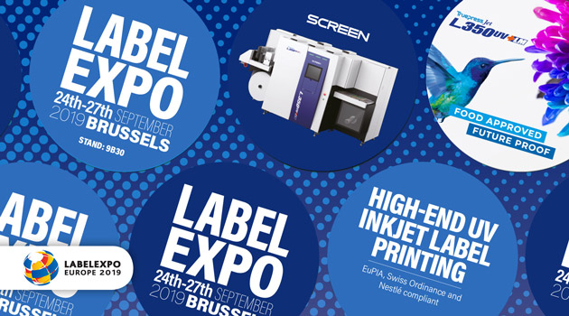 Image from SCREEN SHOWCASES BUSINESS-ENHANCING CAPABILITIES OF DIGITAL LABEL SOLUTIONS AT LABELEXPO EUROPE 2019