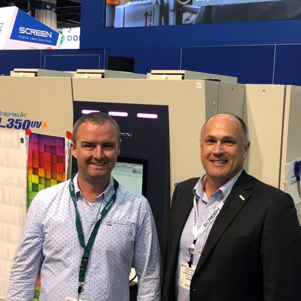 Michael Nankervis Screen at LabelExpo